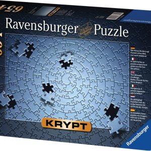 Krypt Spiral Silver 654 PC Jigsaw Puzzle