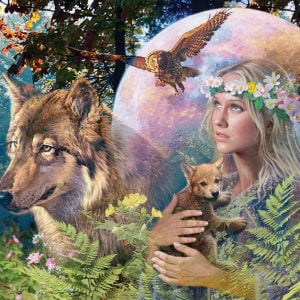 Lady of the Forest Puzzle