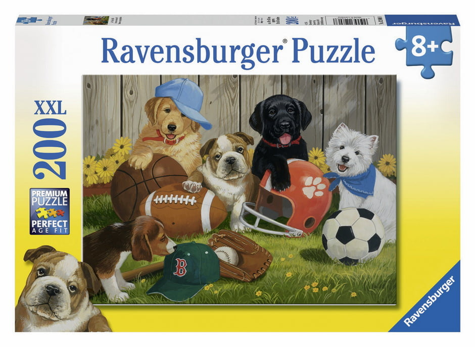 Let's Play Ball 200 XXL PC Jigsaw Puzzle