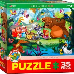 Little Red Riding Hood 35 PC Jigsaw PUzzle