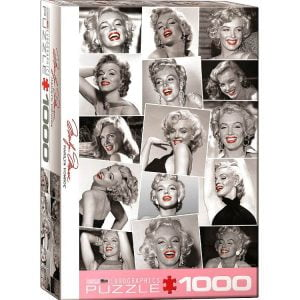 Marilyn Monroe Red Lips 1000 PC Jigsaw Puzzles