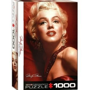 Marilyn Monroe Red Portrait 1000 PC Jigsaw Puzzle