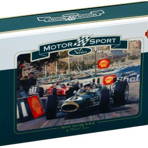 Monte Carlo Race 1000 PC Jigsaw Puzzle in Tin
