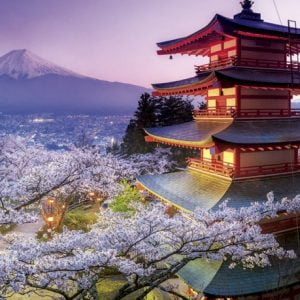 Mount Fuji Japan 2000 PC Jigsaw Puzzle