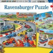 Moving Vehicles 3 x 49 PC jigsaw Puzzle