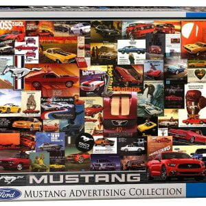 Mustang Advertising 1000 PC Jigsaw Puzzle