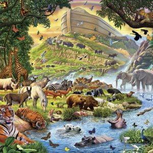 Noah's Arc 300 PC Jigsaw Puzzle