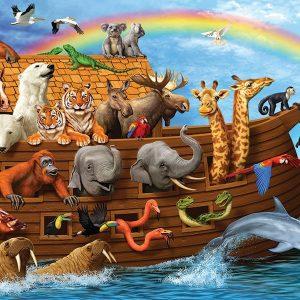 Noah's Ark 36 PC Floor Puzzle