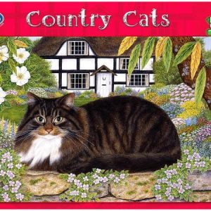On the Garden Wall 500 PC Jigsaw Puzzle