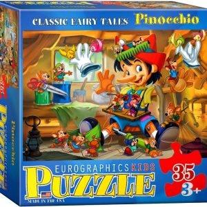 Pinocchio 35 PC Jigsaw Puzzle