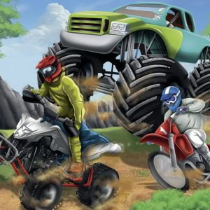 Power Vehicles 200 XXL PC Jigsaw Puzzle