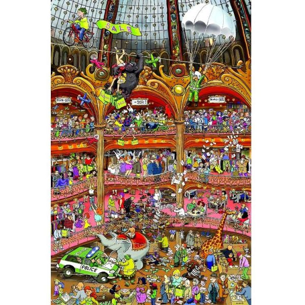 Rinesch Retail Circus 1000 PC Jigsaw Puzzle