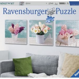 Floral Delights 3 x 500 PC Jigsaw Puzzle