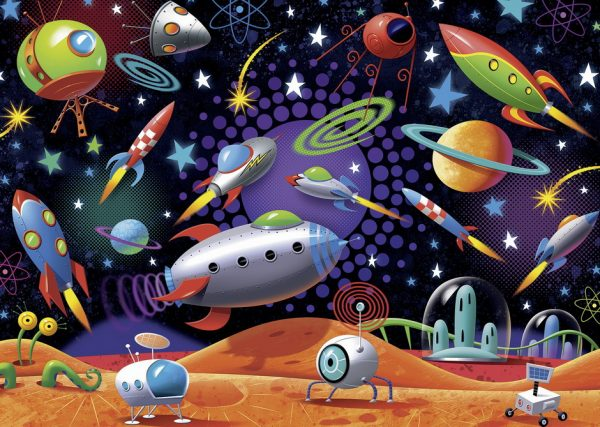 Space 35 PC Jigsaw Puzzle