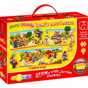 Story Puzzle Tom's House 20 PC Jigsaw Puzzle