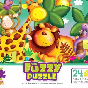 The Fuzzy Puzzle Jungle 24 PC