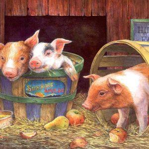 Three Pigs 500 PC Jigsaw puzzle