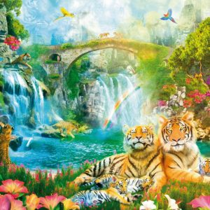 Tigers Repose 1000 PC Jigsaw Puzzle