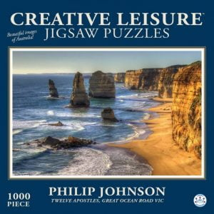 Twelve Apostles Great Ocean Rd Vic 1000 PC Jigsaw Puzzle