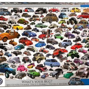VW What's Your Bug 1000 PC Jigsaw Puzzle