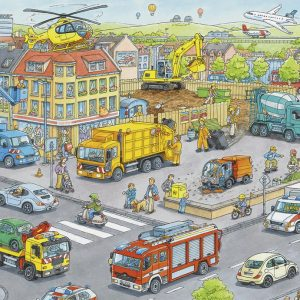 Vehicles in the City 100 XXL PC Jigsaw Puzzle