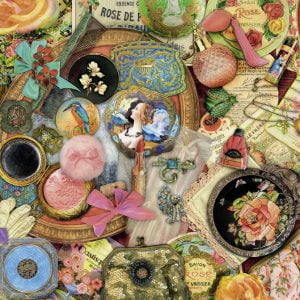 Vintage Collage 1000 PC Jigsaw Puzzle