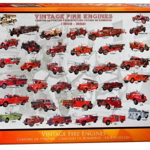 Vintage Fire Engines 1000 PC Jigsaw Puzzle