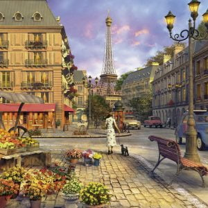 Vintage Paris 1500 PC Jigsaw Puzzle