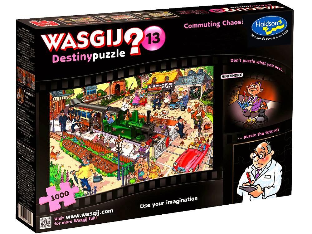 Wasgij Destiny 13 Commuting Chaos 1000 PC Jigsaw Puzzle