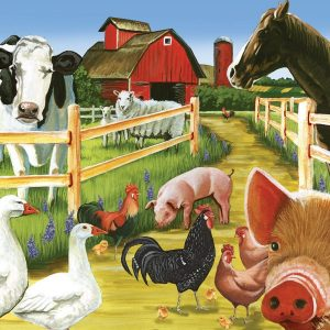 Welcome to the Farm 36 PC Jigsaw Puzzle