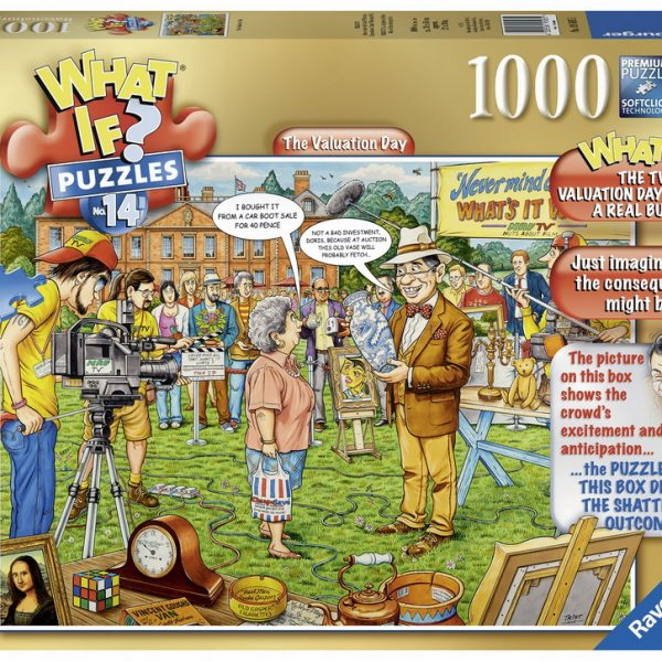 What If No 14 1000 PC Jigsaw Puzzle