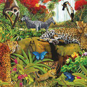 Wild Jungle 100 XXL PC Jigsaw Puzzle
