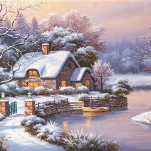 Winter Evening 1000 PC Jigsaw Puzzle