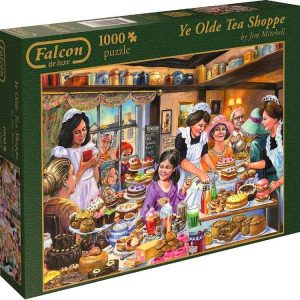 Ye Olde Tea Shoppe 1000 PC Jigsaw Puzzle