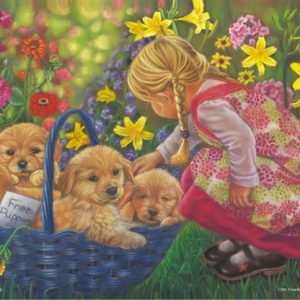 A Basket full of Love 260 PC Jigsaw Puzzle