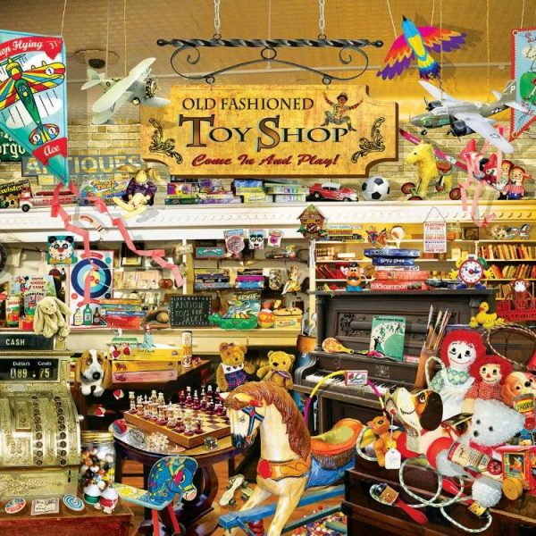 An Old Fashioned Toyshop 1000 PC Jigsaw Puzzle