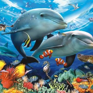 Beneath the Waves 1000 PC Jigsaw Puzzle