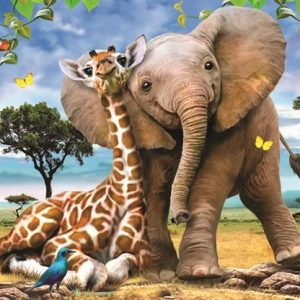 Best Pals 260 PC Jigsaw Puzzle
