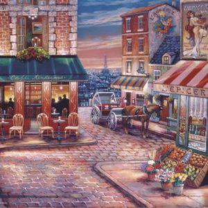 Cafe Rendezvous 500 PC Jigsaw Puzzle