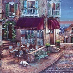 Cafe Romantique 1500 PC Jigsaw Puzzle