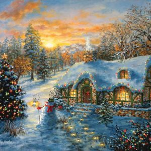 Christmas Cottage 500 PC