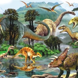 Dino Valley II 260 PC Jigsaw Puzzle
