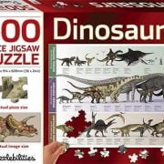 Dinosaurs 500 PC Jigsaw Puzzle