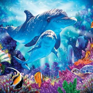 Dolphin Guardian 500 PC Jigsaw Puzzle