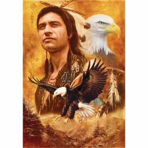 Eagle Montage 500 PC Jigsaw Puzzle