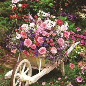 Garden Flowers 260 PC Jigsaw Puzzle