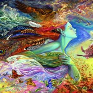 Josephine Wall Spirit of Flight 2000 PC Jigsaw Puzzle