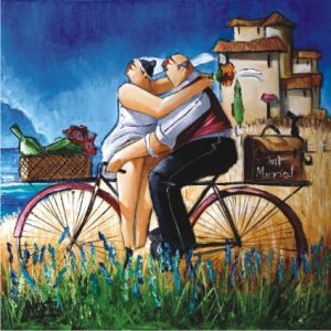 Just Married 1024 PC Square Jigsaw Puzzle