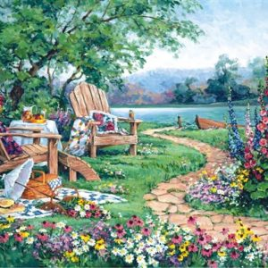 Lakeside Afternoon 260 PC Jigsaw Puzzle