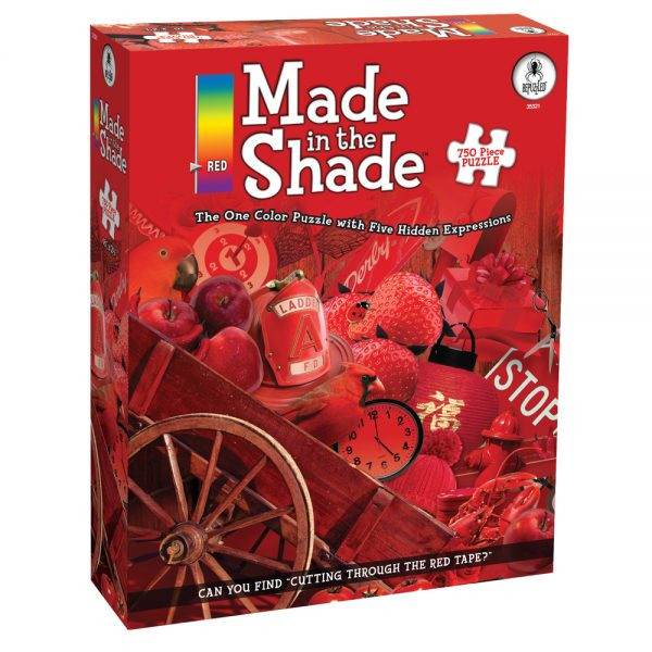 Made In the Shade Red 750 PC Jigsaw Puzzle